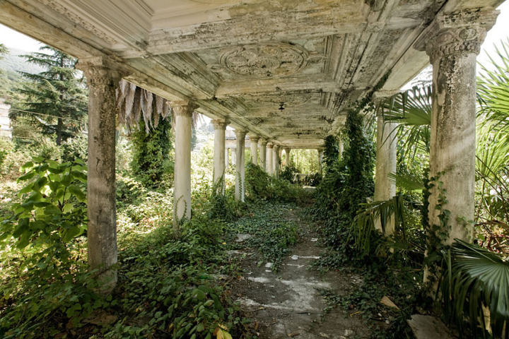 18. Abandoned Train Station, Abkhazia, Georgia
