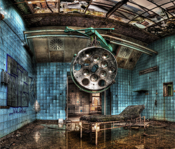 19.a Abandoned Military Hospital in Beelitz, Germany