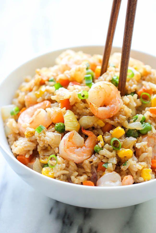 2. Shrimp Fried Rice