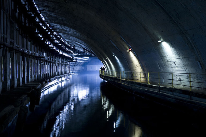 22. Abandoned Submarine Base in Balaklava, Ukraine