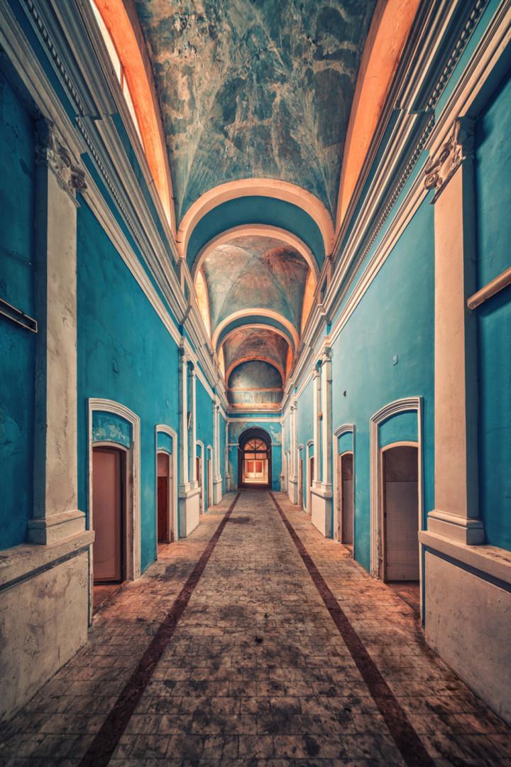 27. Abandoned hallway