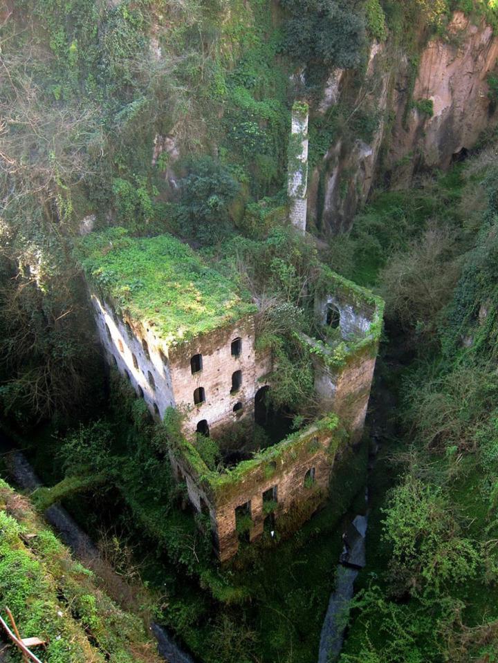 36. Abandoned Mill, Italy