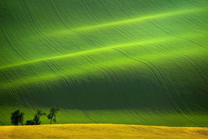 10. The Rolling Hills, South Moravia, Czech Republic.