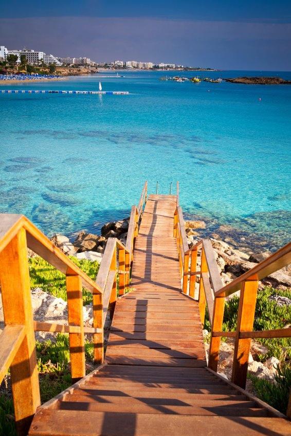 15. Turquoise Sea, Cyprus
