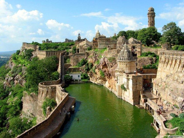 18. Chittorgarh Fort, India