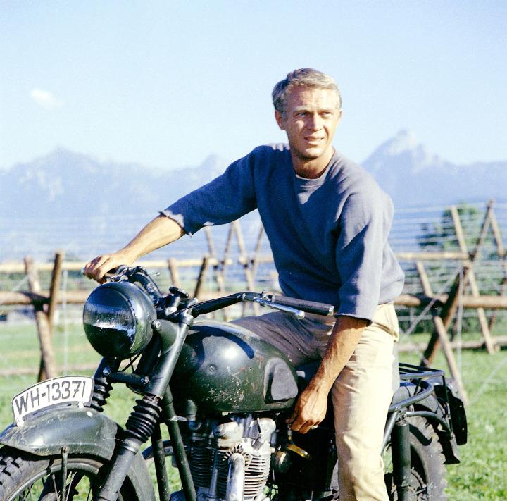 22. Steve McQueen, 1963