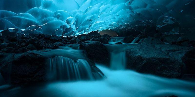 31. Mendenhall Ice Caves - Juneau, Alaska