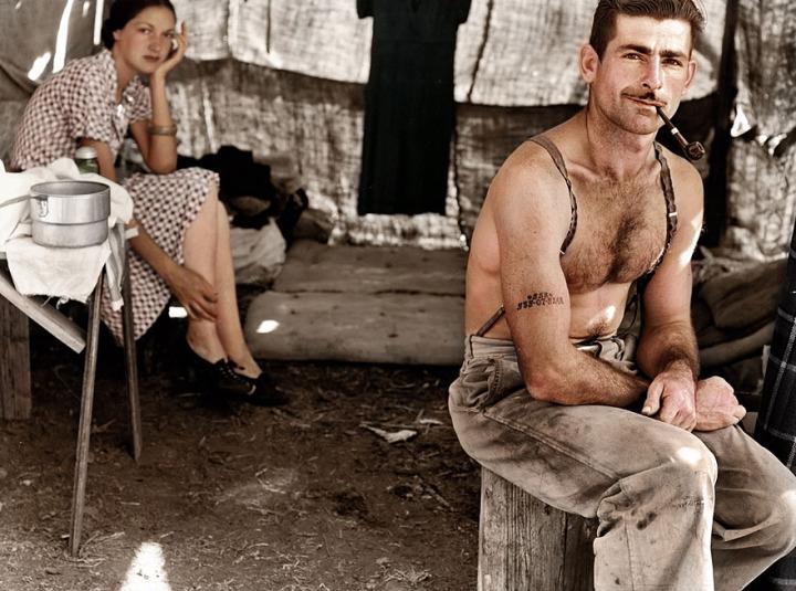 3b. Unemployed Lumber Worker, circa 1939