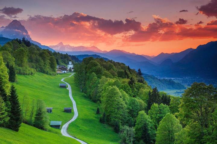 30. Garmisch-Partenkirchen, Bavaria, Germany1