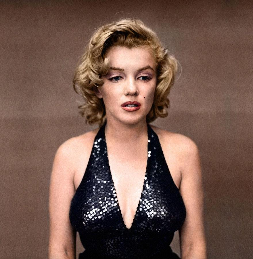 29. Marilyn Monroe, 1957