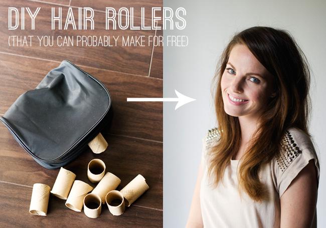 20a. DIY Hair Rollers