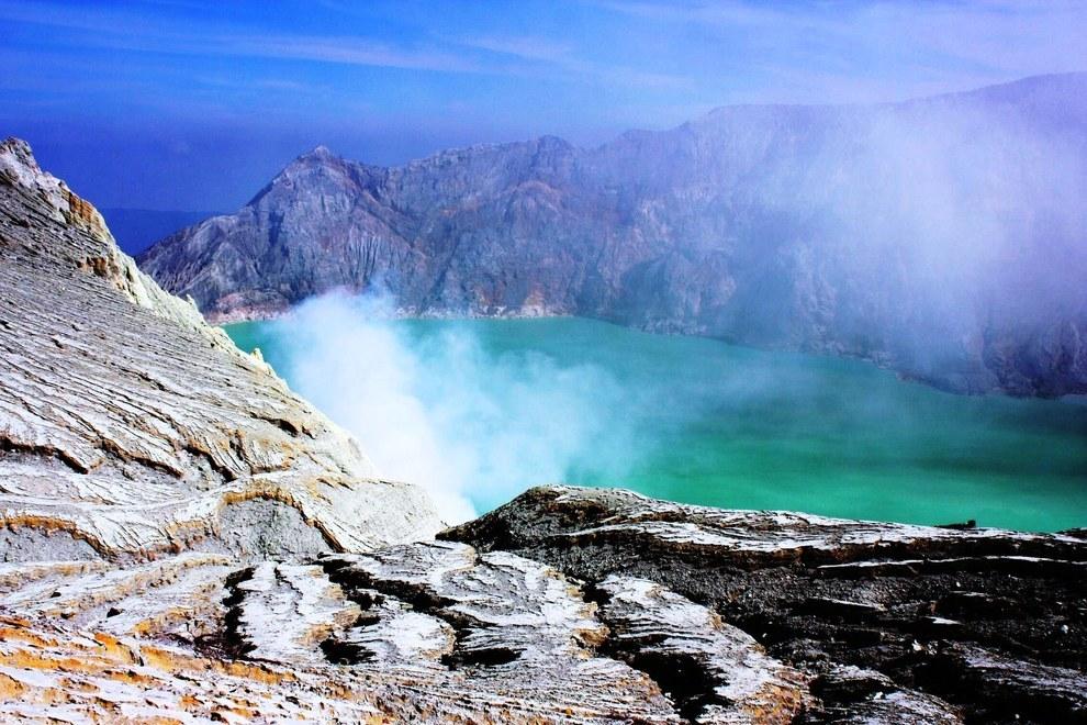14. Ijen Volcano Crater, Banyuwangi Regency of East Java,