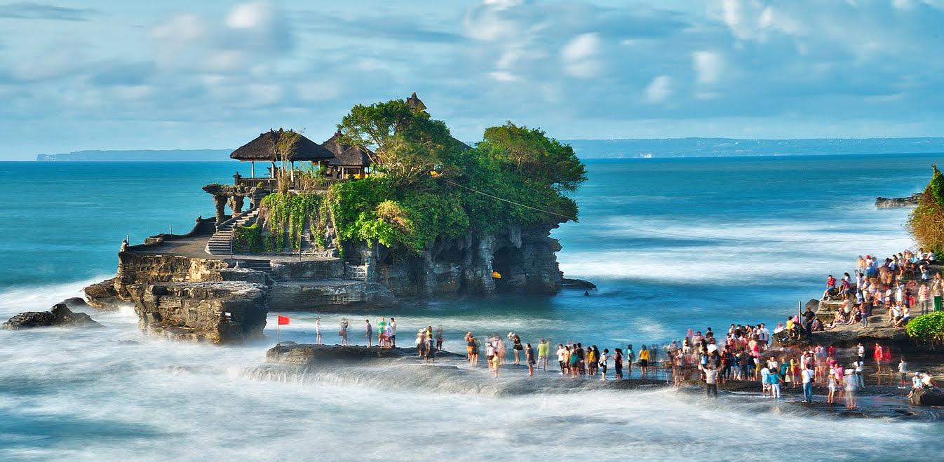 20. Tanah Lot temple, Bali